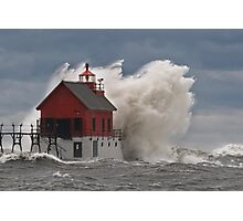 Standing Strong in the Storm Photographic Print