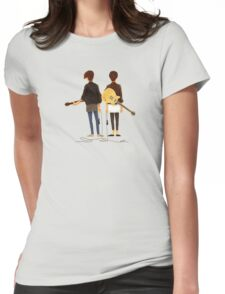 Tegan and Sara Womens Fitted T-Shirt