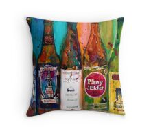 Zombie Dust, Dead Man Ale, Lunch, PlinytheEdler, Centillion Combo Fancy Beer Man Cave Throw Pillow