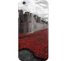 Seas of Red iPhone Case/Skin