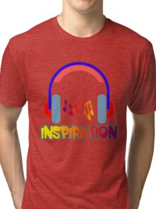 Inspiration with louder music sound!!!! Tri-blend T-Shirt