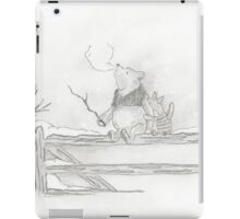 Pooh and Piglet iPad Case/Skin