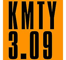 KMTY - Black Photographic Print