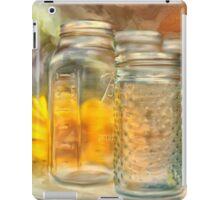 Sunflowers and Jars iPad Case/Skin