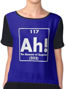 Ah, The Element of Surprise Chiffon Top