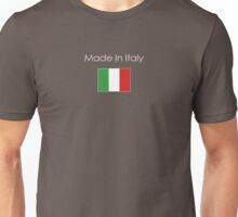 Made In Italy (Light logo) Unisex T-Shirt