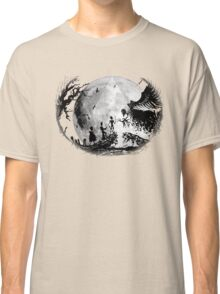 Think Deathly Hallows Moon Classic T-Shirt