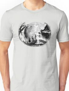 Think Deathly Hallows Moon Unisex T-Shirt