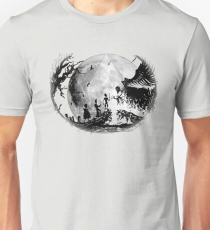 Think Deathly Hallows Moon Unisex T-Shirt