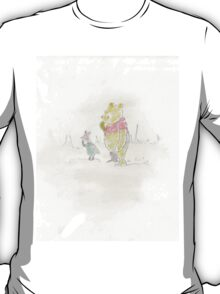 Pooh bear and Piglet T-Shirt