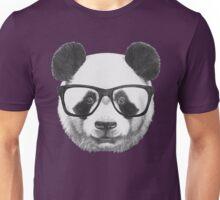 Panda with glasses Unisex T-Shirt