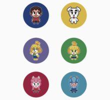 Animal Crossing Circles by geekmythology