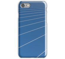 Steel cables. iPhone Case/Skin