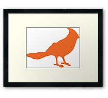 Put a bird on it. Framed Print