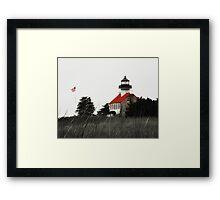 East Point Lighthouse Framed Print