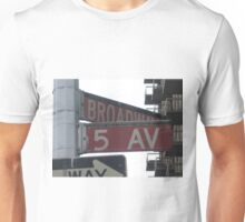5th & Broadway Unisex T-Shirt