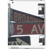 5th & Broadway iPad Case/Skin