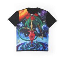 Cosmic hookah Graphic T-Shirt