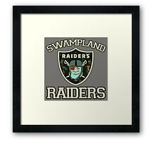 Swampland Raiders Framed Print