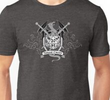 Natural 20 Crest - D&D (Black) Unisex T-Shirt