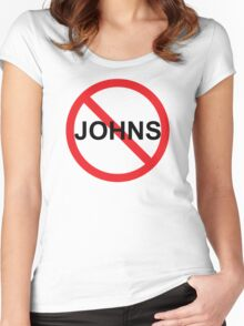 No Johns Women's Fitted Scoop T-Shirt