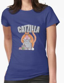 Catzilla Womens Fitted T-Shirt