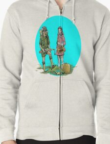 Moonrise Kingdom Zipped Hoodie