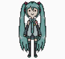Miku Pixel Sprite Kids Clothes