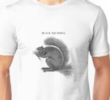 black squirrel Unisex T-Shirt