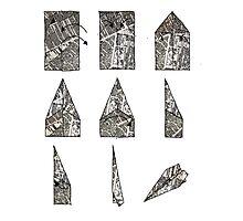 paper aeroplane..... instructions Photographic Print
