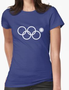 Sochi Ring Fail Womens Fitted T-Shirt