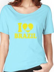 I Heart Brazil Women's Relaxed Fit T-Shirt