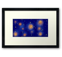 Firefly farm Framed Print