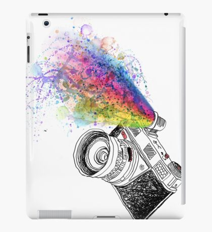 colour photo iPad Case/Skin