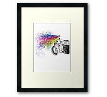 colour photo Framed Print