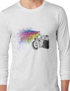 colour photo Long Sleeve T-Shirt