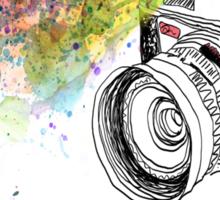 colour photo Sticker