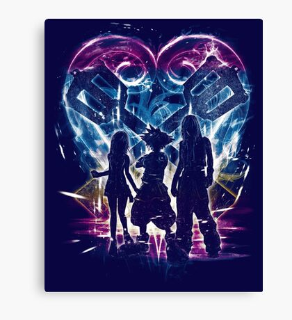 kingdom trio Canvas Print