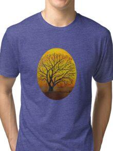 Rural sunset Tri-blend T-Shirt