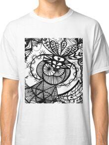 Abstract Sketch Art Classic T-Shirt