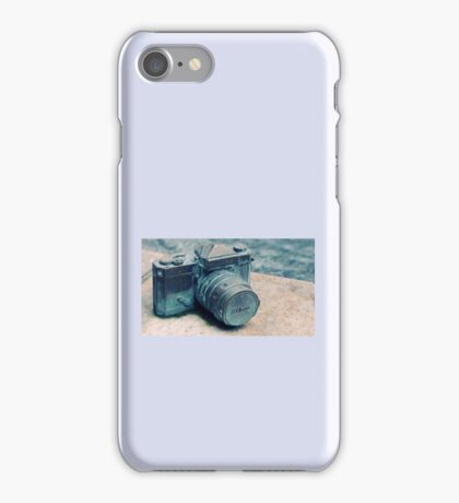 Nikon Vintage Camera iPhone Case/Skin