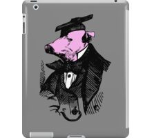 Graduation Gift Ideas - Funny Graduate Vintage Pig Tshirts iPad Case/Skin