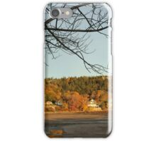 Golden hour at Acadia National Park iPhone Case/Skin