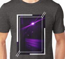 Purple Street at Night Unisex T-Shirt