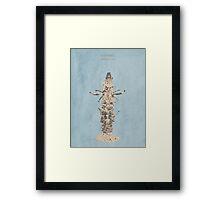 Trou Normand Framed Print