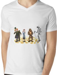 The Wizard of Oz Tim Burton Style Mens V-Neck T-Shirt
