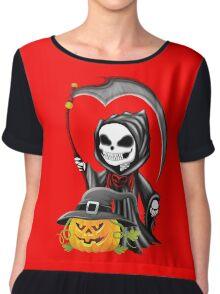 halloween Chiffon Top