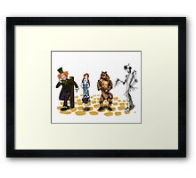 The Wizard of Oz Tim Burton Style Framed Print