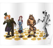 The Wizard of Oz Tim Burton Style Poster