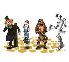 The Wizard of Oz Tim Burton Style Photographic Print